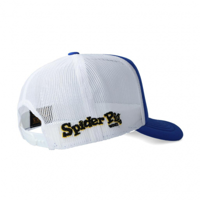 Spider Pig Blue Bumble Bee Snapback Cap