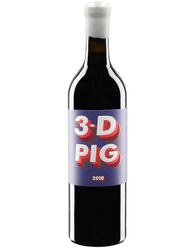 Spider Pig 3-D Pig Red Blend 2018